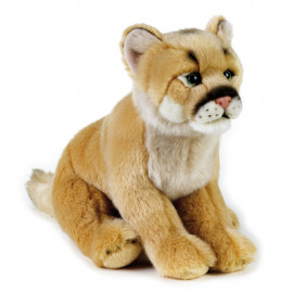 Peluche leone di montagna 25 cm peluches National Geographic Venturelli 04084 pelusciamo store