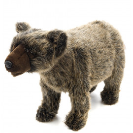 Peluche Orso Grizzly 36x60x20 Cm Peluches Hansa PS 07547