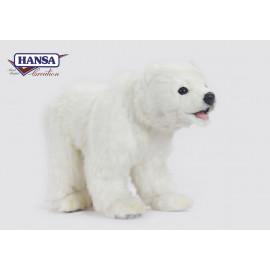 Peluche Orso Bianco Polare 23x38x17 Cm Peluches Hansa PS 07665