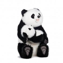 Peluche Panda Con Piccolo 60 Cm Peluches Hansa PS 09843 Pelusciamo Store Marchirolo