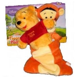 Peluche Winni nel sacco a pelo di serie Winnie the pooh 30 cm *01179