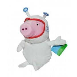 Peluche Peppa Pig 30 cm Astronauta con cappuccio | pelusciamo.com