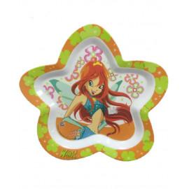 Piatto piano ciotola stella Winx pappa neonato *03560