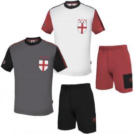 Pigiama Uomo Milan Abbigliamento Originale Calcio PS 06799 pelusciamo store