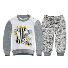 Pigiama Bimbo Juventus Interlock Abbigliamento ufficiale Juve Baby R22551