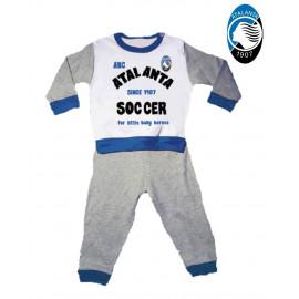 Pigiama bambino 2 pezzi abbigliamento ufficiale Atalanta B.C. *02683 pelusciamo store