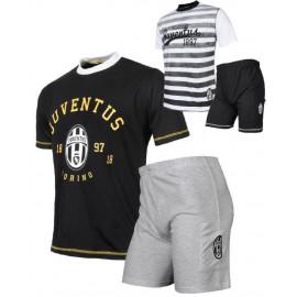 Pigiama Juventus Ragazzo Maglietta E Pantaloncini Abbigliamento Juve PS 23971