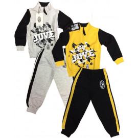 Pigiama Felpato Tuta Bambino Juventus Fc Abbigliamento Ufficiale PS 18877