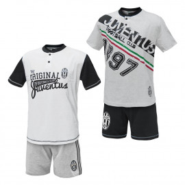 Pigiama adulto Juve maglia e pantaloncini Abbigliamento Juventus 24994 pelusciamo store