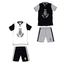 Pigiama Uomo Juventus maglietta e pantaloncini prodotto ufficiale Juve *12874