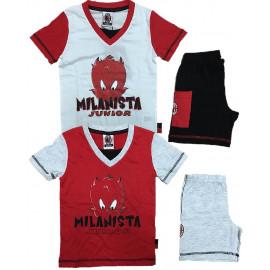 Pigiama bambino calcio Milan Abbigliamento ufficiale PS 06805