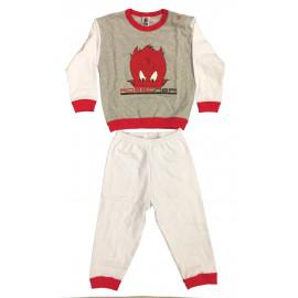 Pigiama Bimbo Diavoletto Abbigliamento bambino Originale AC Milan PS 04734