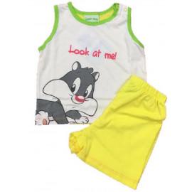 Pigiama prima infanzia bimbo bimba Look at me Looney Tunes *00016