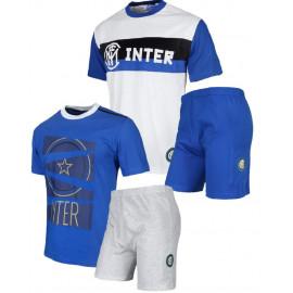 Pigiama bambino maglia e pantaloncini Abbigliamento Inter PS 23989