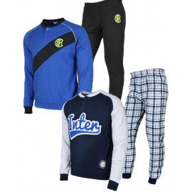 Pigiama uomo Inter Abbigliamento Ufficiale F.C.Internazionale 24593 pelusciamo store