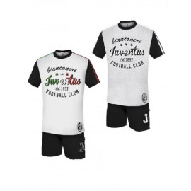 Pigiama ragazzo Maglietta e Pantaloncini Juventus Abbigliamento juve *21219 | pelusciamo.com