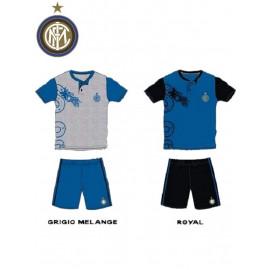 Pigiama Bimbo ragazzo Fc Internazionale, abbigliamento ufficiale Inter *12832