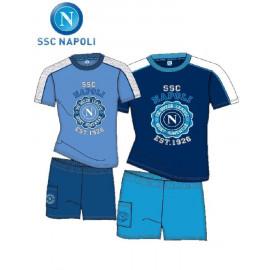 Pigiama Corto Ragazzo SSC Napoli *17877 Abbigliamento Ufficiale Calcio