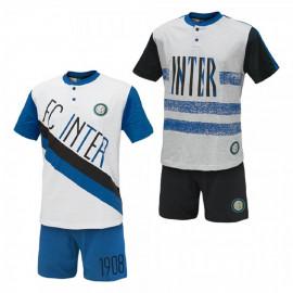 Pigiama Bambino Corto Inter Abbigliamento F.C. Internazionale PS 07769 pelusciamo store