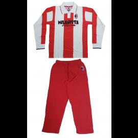 Abbigliamento ACM 1899 Milan Pigiama Bimbo Milanista Junior  R05072