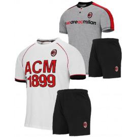 Pigiama Milan Corto Abbigliamento Bambini Calcio ACM Milan PS 2694