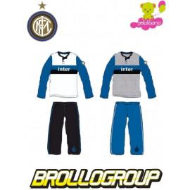 Pigiama lungo Fc Internazionale, pantalone e maglia ufficiale inter *12844