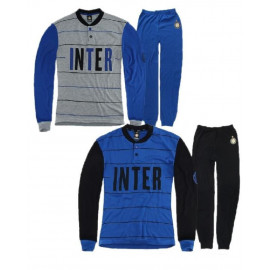 Pigiama Uomo Fc Internazionale maglia e pantalone ufficiale Inter *17376