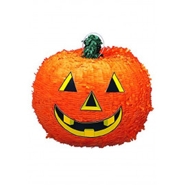 Gioco per Festa Halloween, Pignatta Zucca 3D | pelusciamo.com
