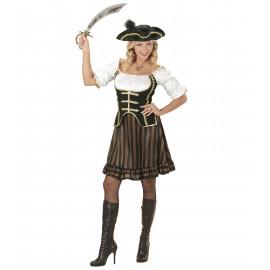 Costume Carnevale Donna  Vestito  Pirata *24896  Piratessai | Pelusciamo.com