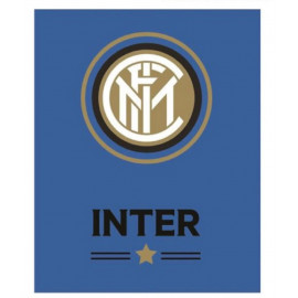Plaid Inter In Pile Ufficiale F.C. Internazionale Calcio PS 08830 Pelusciamo Store Marchirolo