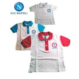 Polo neonato bambino abbigliamento Ssc Napoli calcio *16291