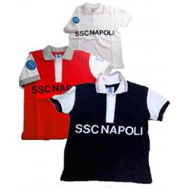 Polo neonato bambino abbigliamento prima infanzia Napoli calcio PS 16273