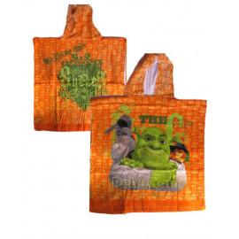 Poncho Shrek accappatoio per Piscina Mare dreamworks | pelusciamo.com