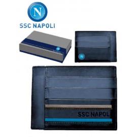 Portacarte di credito Napoli calcio *19074 vendita gadget idee regalo abbigliamento ufficiale tifosi