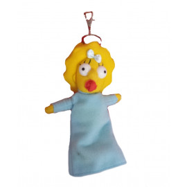 Peluche portachiavi Maggie Simpson - cartone The Simpson 13 cm | Pelusciamo.com