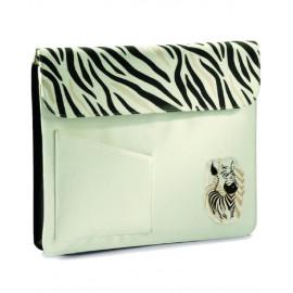 "Portadocumenti porta Notebook Bianca Zebra Nici *05867 pelusciamo Nici Laptoptasche Zebra , Notebook Tasche, Schutztasche 15""Zoll NEU Wild Friends"