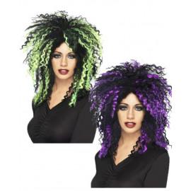 Accessorio costume Carnevale ,Parrucca  Diabolica Travestimento Halloween *18558 Smiffy's