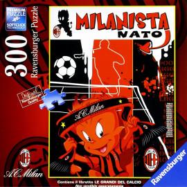 Puzzle Ravesburger Milanista nato 300 Pz. 04362 giochi giocattoli pelusciamo store