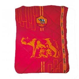 Quilt trapuntino leggero 160x260 cm. 1 piazza AS. Roma lupa *19423