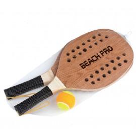 Racchettoni Spiaggia Beach Tennis Pro con Pallina 06726 giochi da spiaggia PELUSCIAMO STORE