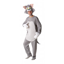 Costume Carnevale uomo cartoon gatto Tom Tom&Jerry *15024