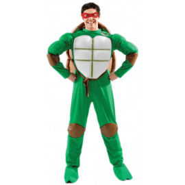 Costume Carnevale uomo cartoon Tartaruga Ninja *15010 Ninja Turtles
