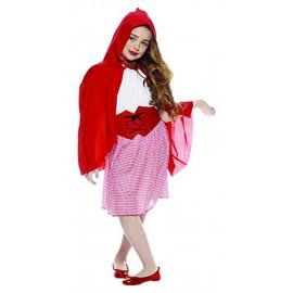 Costume Carnevale bambina cappuccetto rosso *05269 pelusciamo store