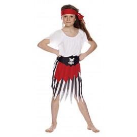Costume carnevale per Bambine travestimento Piratessa 05219 pelusciamo store