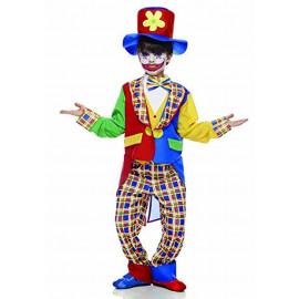 Costume Carnevale bambino clown fiorello 05274 pagliaccio pelusciamo store
