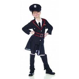 Costume Carnevale carabiniera travestimento bambina 04991 pelusciamo store