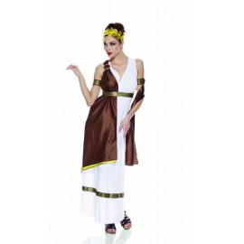 Costume Carnevale donna dea greca Athena 05272 pelusciamo store