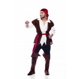 Costume carnevale pirata travestimento uomo 05228 pelusciamo store