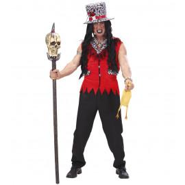 Costume Halloween Adulto Sacerdote Woodoo *24565 | pelusciamo.com