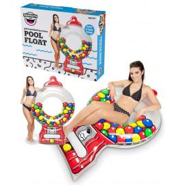Gumball gonfiabile gigante 120 cm. accessori per piscina e mare *07343 pelusciamo store